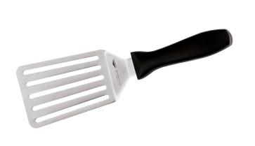 Flexible large holed spatula