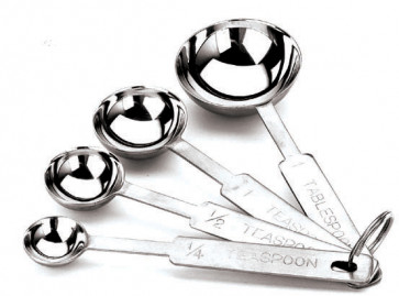 Stainless steel spoon dosers