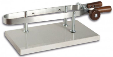 Clamp for ham with marble base