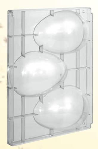 Stampo in policarbonato Uovo di Pasqua 200 gr.