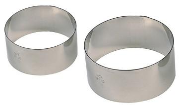 Stainless steel rings 8-12