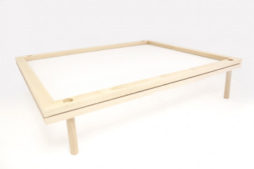 Frame for drying pasta  in beech-wood stackable