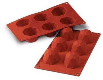 Diamond silicone mold by Silikomart Professional
