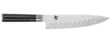 Coltello damascato Chef cm. 20 con alveole Serie Shun Classic di Kai