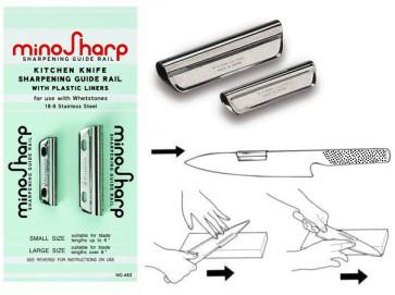 Sharpening guide rails