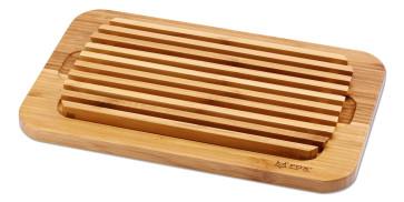 Tagliere per pane in bambu
