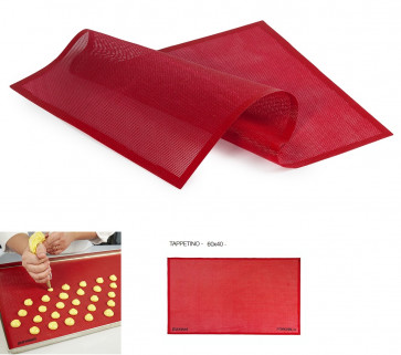 FOROSIL micro-holed mat in silicone 58,5 x 38,5 cm. Pavoni