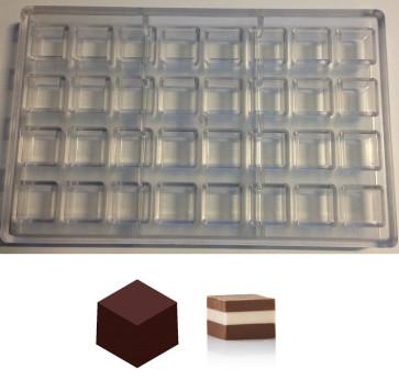 Stampo in policarbonato per cioccolatini 32 Cremini