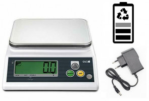 Electronic kitchen scale 3 Kg. Division 1 gr.
