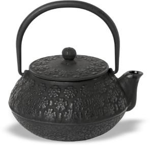 Tea-pot in black cast iron 0,65 l