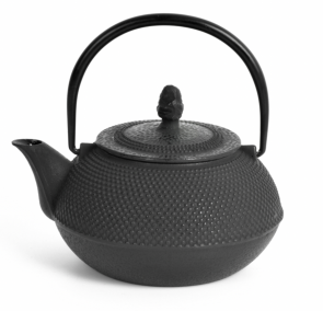 Cast iron teapot with Emai filter 0.9 Lt.