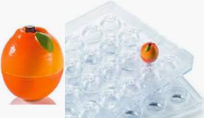 ARANCIA: Stampo in policarbonato 3D magnetico ChocoFruit