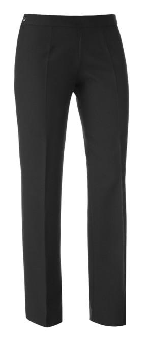 Woman trouser no lining pant Black Color