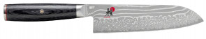 Coltello damasco 49 strati Santoku lama cm. 18 Serie Miyabi 5000 FCD