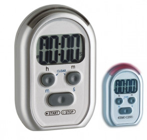 TFA Electronic timer and chronometer with acustic, flashing or vibration signal