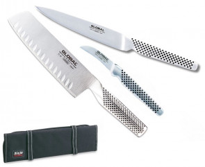 Chef Entremetier Case with Global Japanese Knife