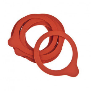 Set of 10 rubber rings for jars