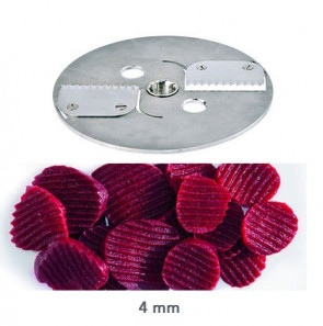 Accessory Disc for wavy slice Vegetable cutter KG 201 by Kronen
