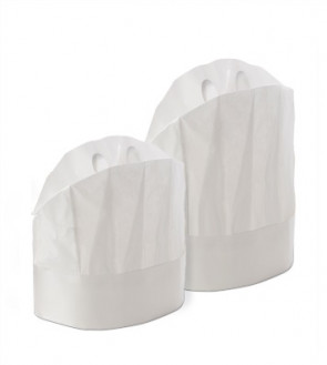 Paper Chef hat: package of 20 items