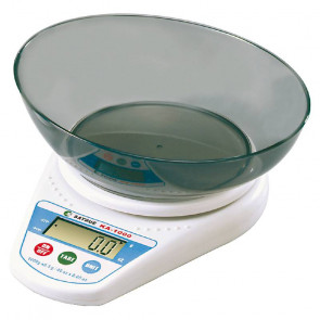 Digital kitchen scale with bowl Scale 0,5 g.