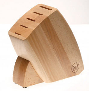 Knife block empty in wood by Sambonet Paderno