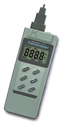 Digital thermometer type K waterproof without probe