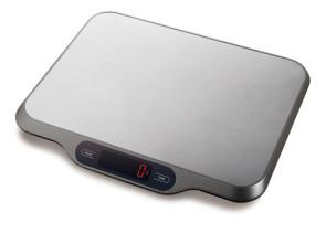 Bilancia digitale da cucina in inox Peso 1 gr. - 5 Kg