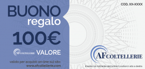 Gift Card Value € 100.00