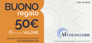 Gift Card Value € 50.00