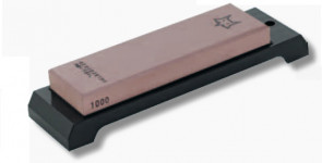 Japanese sharpening stone double grain 1000