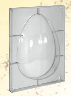 Mould for chocolate polycarbonate: Egg 800 gr