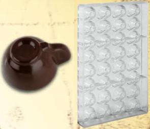 Stampo in policarbonato per cioccolato Piccola tazzina