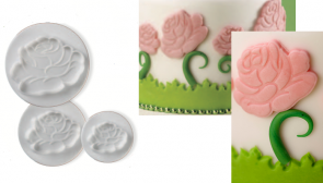 ROSE: Paste-cutter with extractor rose shaped