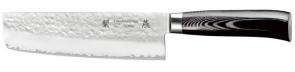 3-layer Nakiri knife cm. 18 San Mai Tsubame Tamahagane series