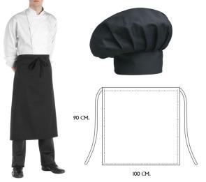 Set Cappello e grembiule cuoco
