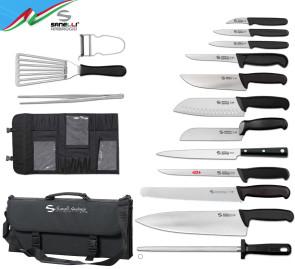 Valigetta Sanelli Ambrogio completa di coltelli