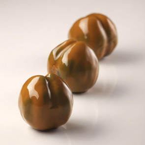 Marron: Double silicone mould chestnuts single portion Cedric Grolet line from Pavoni Professional