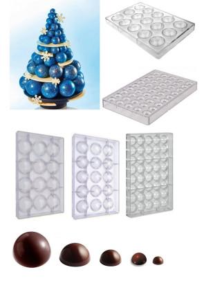 Albero sfere di cioccolato