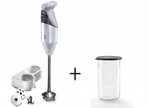Bamix Gastro 350: Mixer Whipper professional version + glass with lid 400 ml.