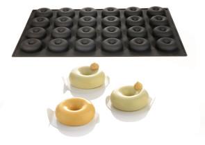 Donuts silicone mold by Martellato