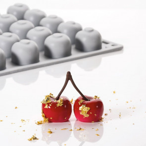 Cherry: silicone mould Gourmand Line by Pavoni Professional