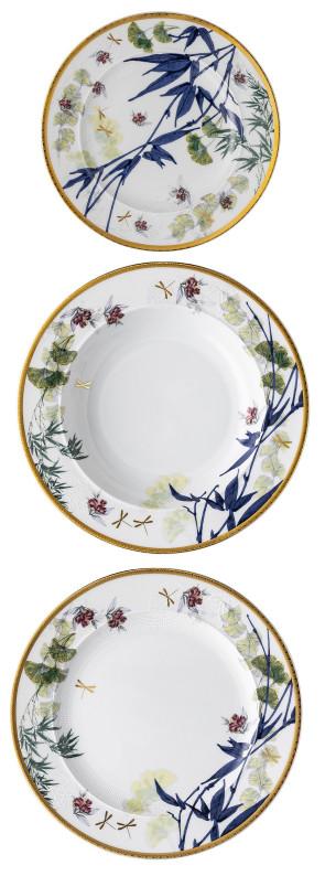 Rosenthal Heritage Turandot 3-plate set at the table