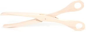 Pinza da cucina in legno di faggio