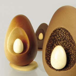 Kit 2 thermoformed molds Egg Lamp KT50 by Pavoni Professional