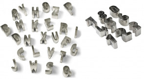 Alphabet & Number : Paste-cutter alphabet letters and numbers