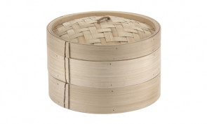 Bamboo steamer for rice