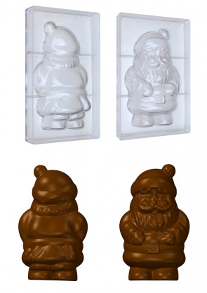 Stampo in policarbonato Babbo Natale