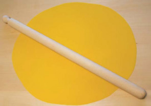 Mattarello in faggio lunghezza
