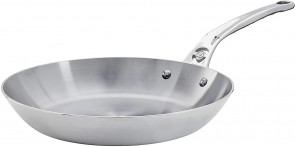 Iron pan with stainless steel handle MINERAL B PRO D. 28 by De Buyer