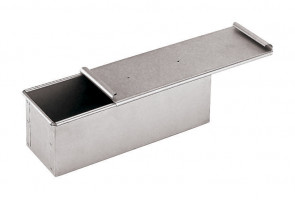 Aluminized bread mold with lid